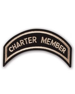Heritage Tan Charter Member Patch