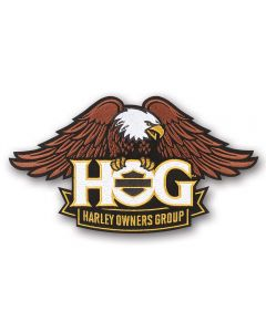 Large H.O.G. Full Color Patch