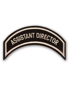 Heritage Tan Assistant Director Patch
