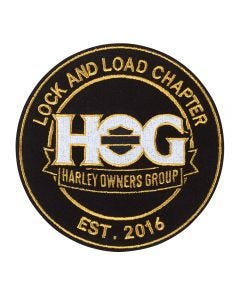 H.O.G. Icon Logo Chapter Patch