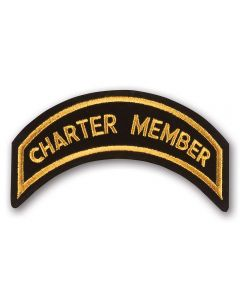 Gold Charter Member Patch