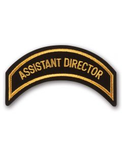 Gold Assistant Director Patch
