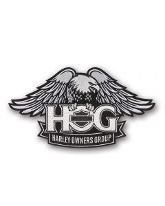 Large H.O.G. Silver Patch