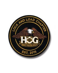 Eagle Logo Chapter Patch