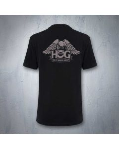 Ladies Willie G. Sketch T-Shirt with H.O.G. Eagle