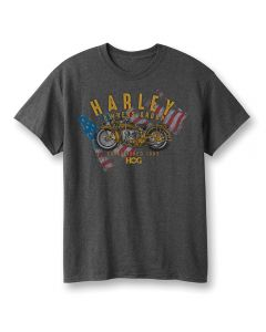 Harley Owners Group Flag T-Shirt