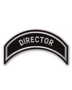 Silver Director Patch