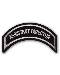 Silver Assistant Director Patch