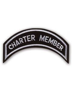 Silver Charter Member Patch