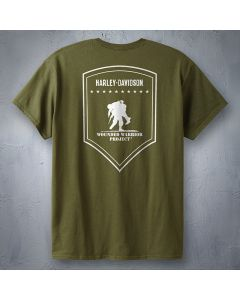 Military Green Wounded Warrior T-Shirt